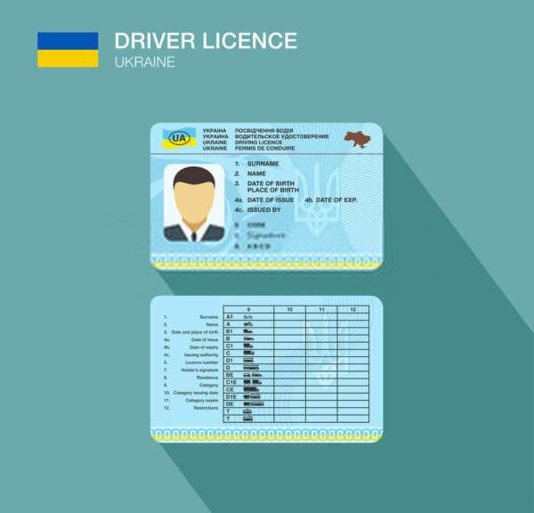 Russia Driver card