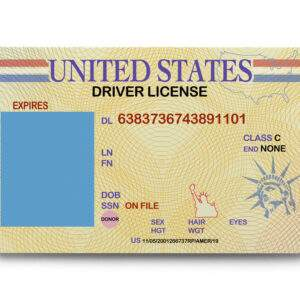 USA Fake Driver's License for Sale