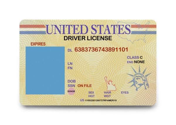 USA Fake Driver's License for Sale
