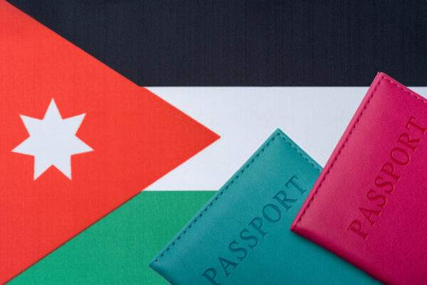Passport of Jordan