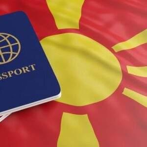 Passport of Macedonia