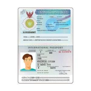 Fake ID Card of Peru