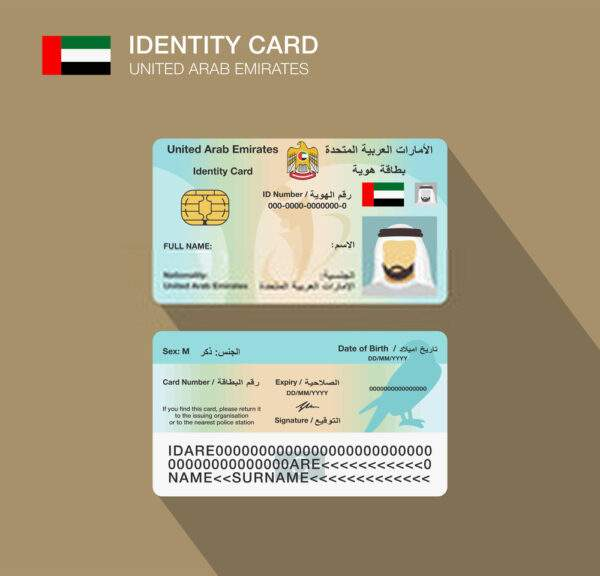 ID Card of United Arab Emirates