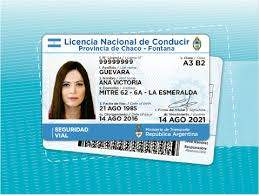 Argentina Fake Driver's License for Sale