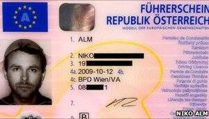 Austria Driving license