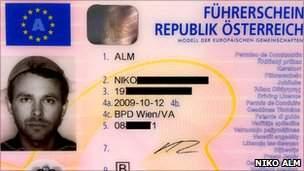 Austria Driving license