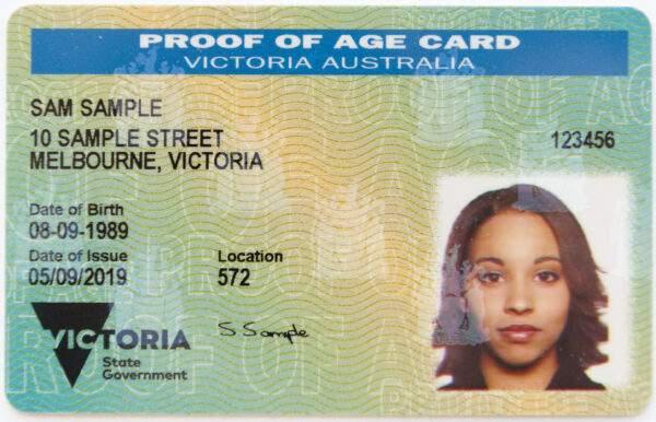 Austrilia id card