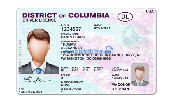 Colombia driver's License