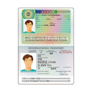 Fake ID Card of Czech Republic