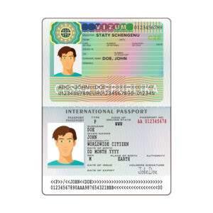 Fake ID Card of Czech Republic