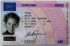 Estonia Driving license