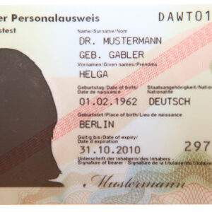 Fake ID Card of Germany