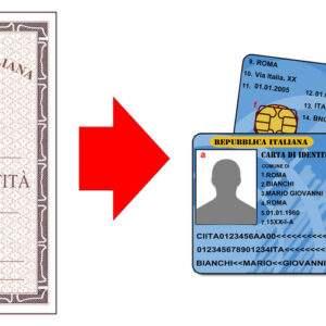 Fake ID Card of Italy