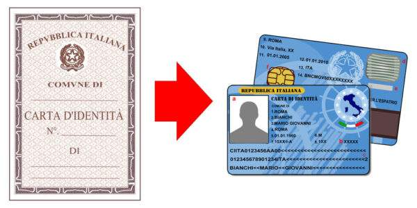 ID Card of Italy