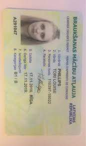Buy Fake Driver's License of Latvia