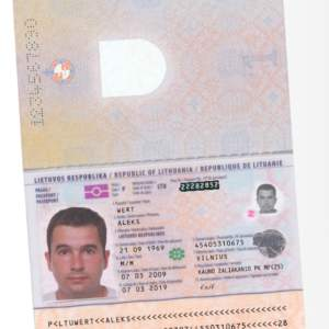Lithuania driver card