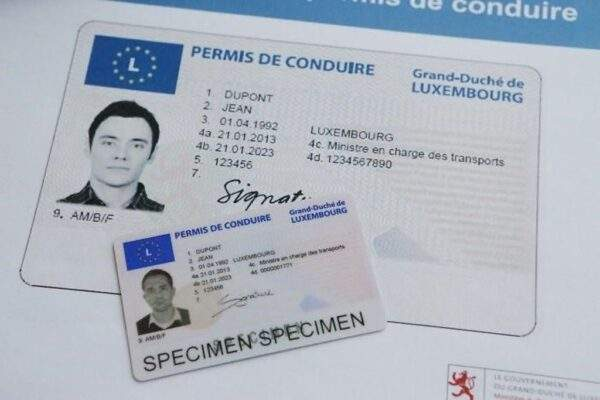 Buy Fake Driver's License of Luxembourg