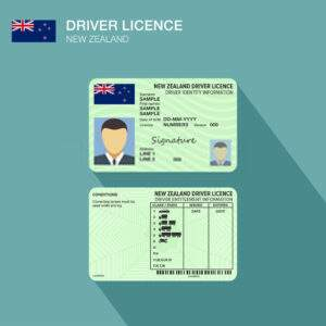 Newzeland Fake Driver's License for Sale