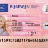 Netherlands Fake Driver's License for Sale