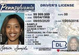 Pennsylvania fake driver's license for sale