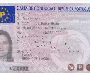 Portugal Fake Driver's License for Sale