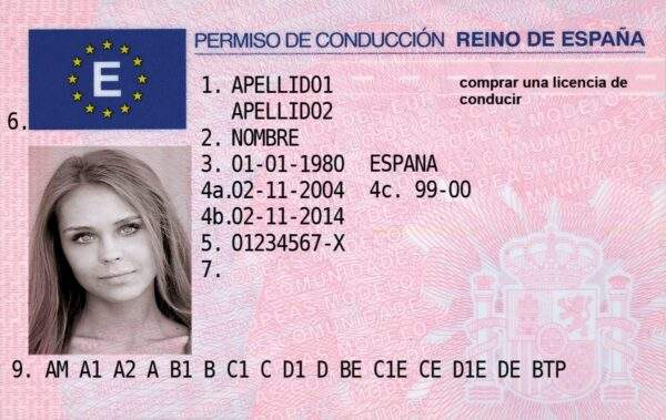 Spain Driver's License
