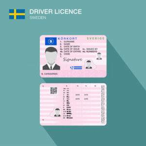 Buy Fake Driver's License of Sweden