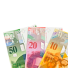 Fake CHF-Swiss Franccounterfeit Banknotes
