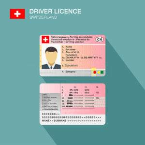 Switzerland Driver's License