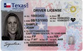 Texas fake driver's license for sale
