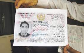 Buy Real ID Card of Afghanistan
