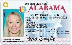 Alabama fake driver's license for sale