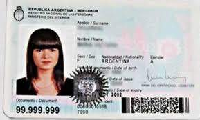 Buy Fake ID Card of Argentina