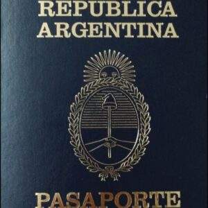 Fake Argentina Passport