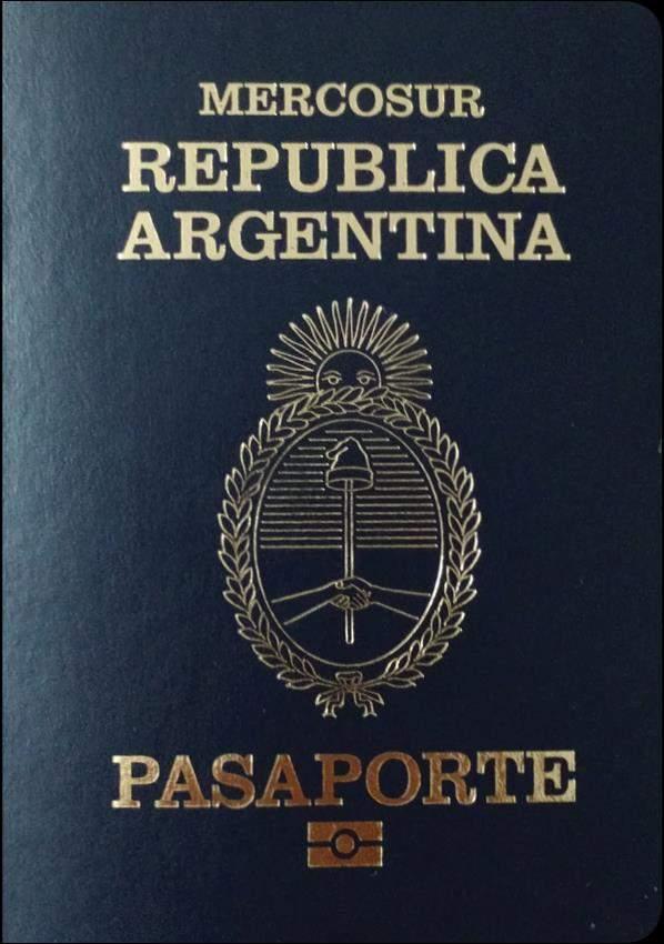 Fake Argentina Passport