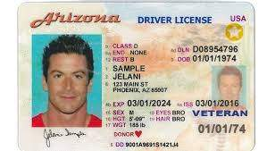 Arizona real and fake driver's license for sale