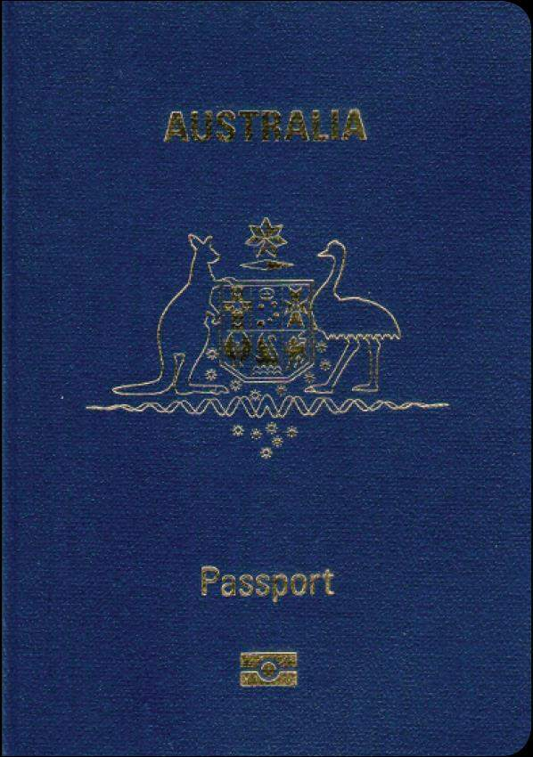 Fake Genuine Australian Passport
