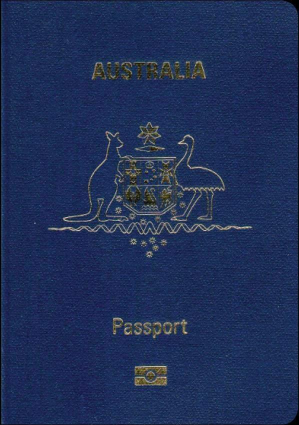Fake Genuine Australian Passport