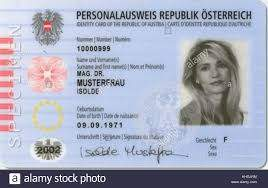 Buy Real ID Card of Austria