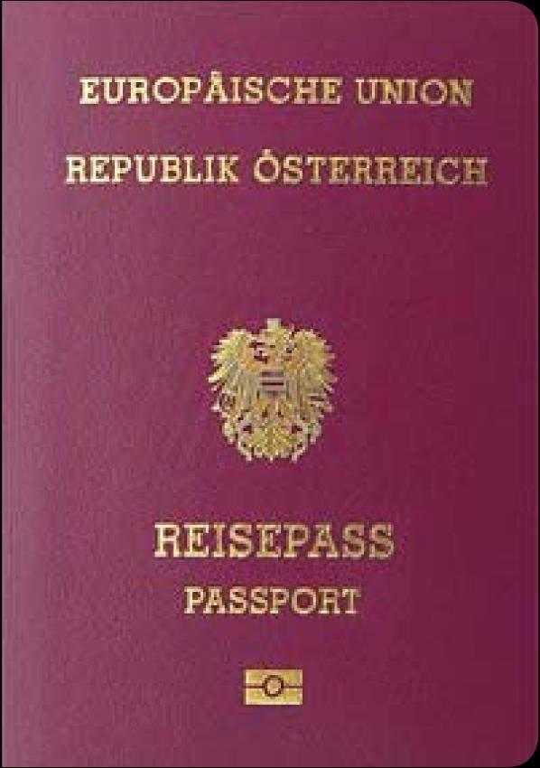 Real Austrian Passport