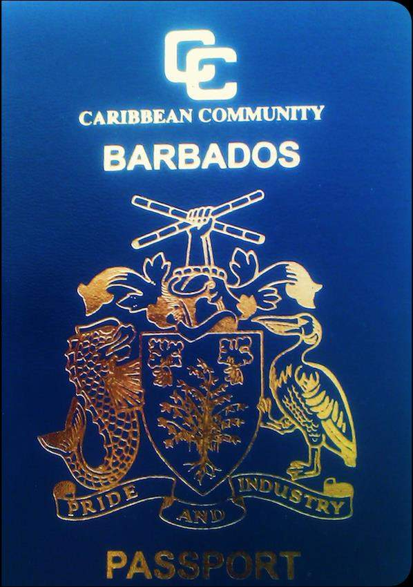 Fake Barbados Passport