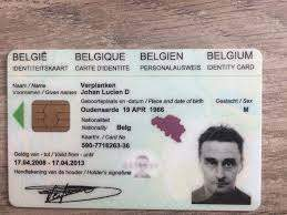 Buy Real ID Card of Belgium