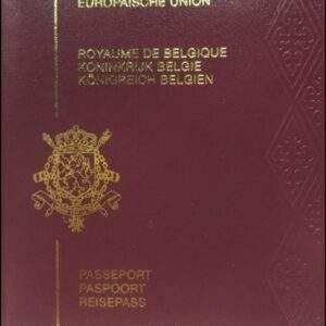 Real Belgium Passport
