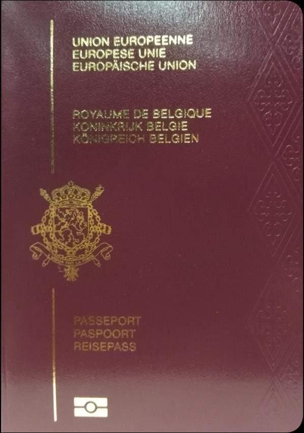 Real Belgium Passport