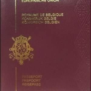 Fake Belgium Passport Online