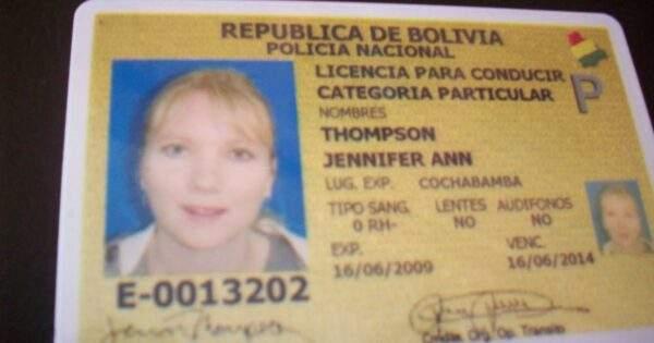 Bolovia Fake Driver's License for Sale