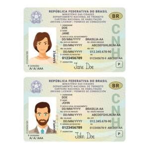 Fake ID Card of Brazil