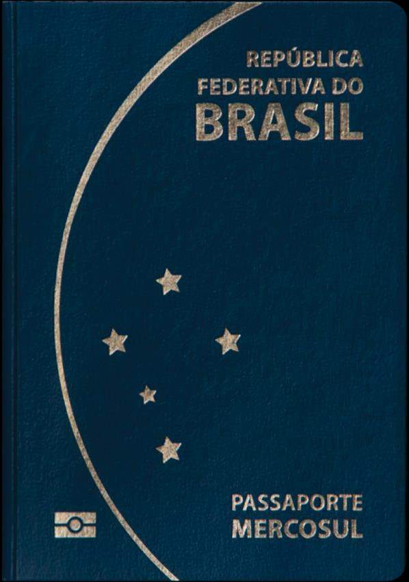 Fake Brazil Passport