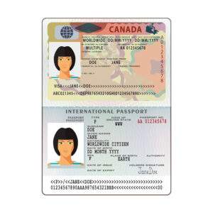 Fake ID Card of Canada