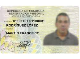 Buy Fake ID Card of Colombia